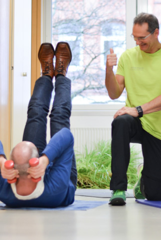 Personal Fitness Traning im Büro